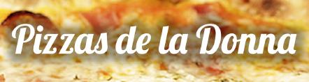 PIZZAS DE LA DONNA